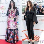 Monica Bellucci abito Dolce & Gabbana outfit Vaughtier scarpe Louboutin