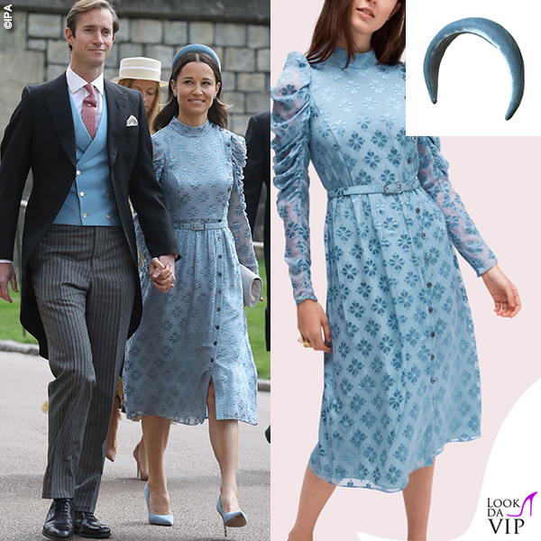 Royal Wedding Lady Gabriella Windsor Pippa Middleton abito Kate Spade cerchietto Jess Collett INSTAGRAM