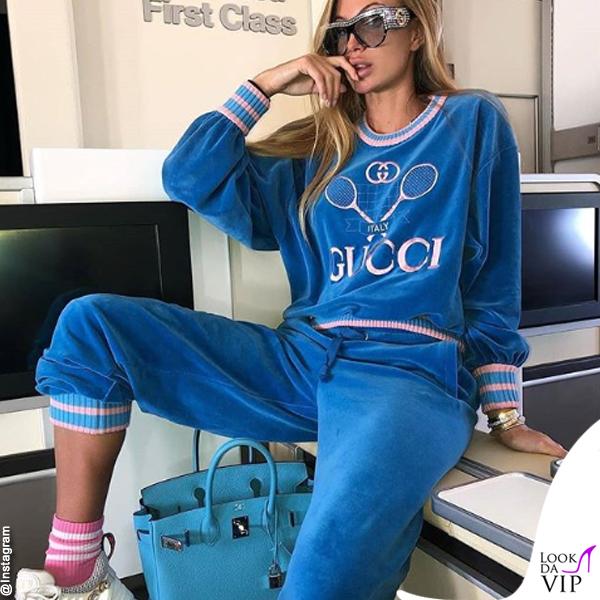Taylor Mega tuta Gucci borsa Hermès 2