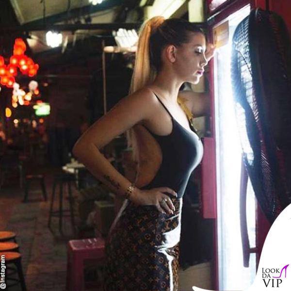 Wanda Nara look Louis Vuitton 2