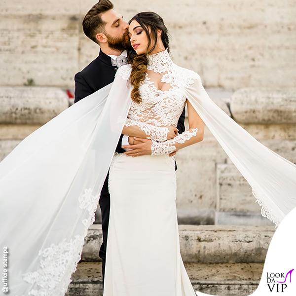 matrimonio Boccia Presta Lorella Boccia abito Blumarine Niccolo Presta abito tripleRRR 9