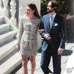 matrimonio Charlotte Casiraghi e Dimitri Rassam abito Saint Laurent