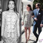 matrimonio Charlotte Casiraghi e Dimitri Rassam abito Saint Laurent 3