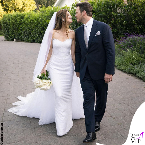 matrimonio Chris Pratt e Katherine Schwarzenegger abiti Armani 2
