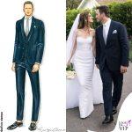 matrimonio Chris Pratt e Katherine Schwarzenegger abiti Armani 6