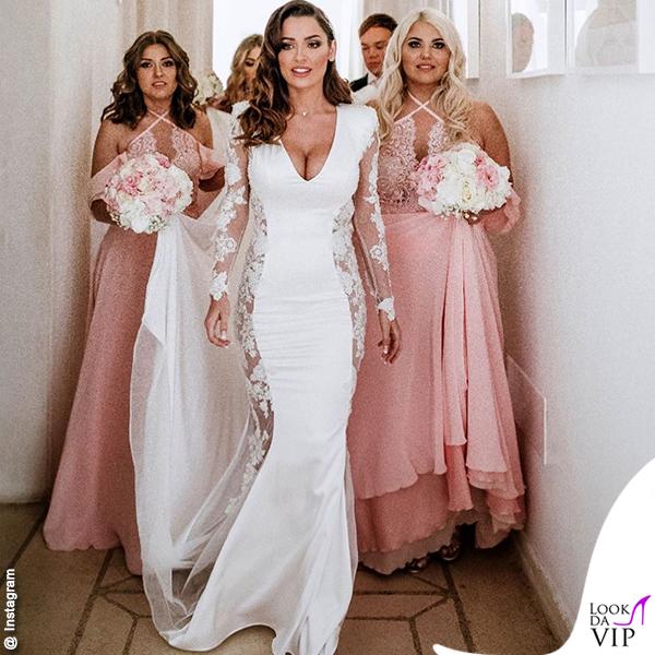 matrimonio Macari Kragl Alessia Macari abito Atelier Rafyva damigelle Lea Damiano Couture