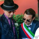 matrimonio Space One Emanuela Muratore abito Centro Sposi Paradiso Fabio Rovazzi J Ax abito Etro 2