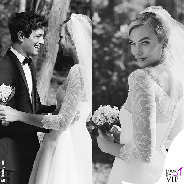 nozze Joshua Kushner Karlie Kloss 18_10_2018 abito Dior 2