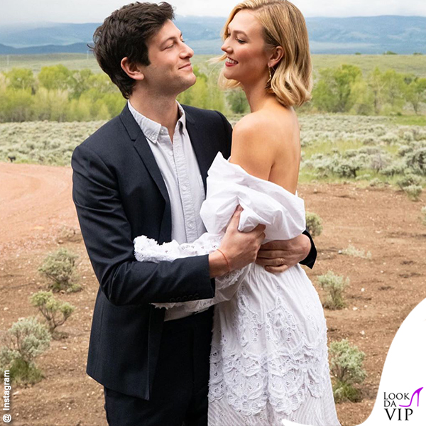 nozze Joshua Kushner Karlie Kloss abito Jonathan Simkhai 1