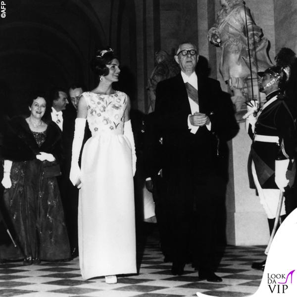 1961 Jackie Kennedy Casa Bianca Charles de Gaulle