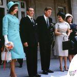 1962 Jackie Kennedy Messico abito Oleg Cassini