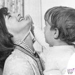 1962 Jackie Kennedy col figlio John F. Kennedy Jr