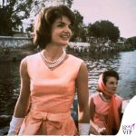 1962 Jackie Kennedy in India abito Oleg Cassini
