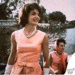 1962 Jackie Kennedy in India abito Oleg Cassini