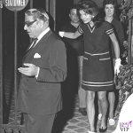 1969 Jackie Kennedy con Aristotele Onassis