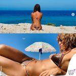 Alessandra Amoroso bikini velvet