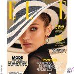 Bella Hadid cover Elle cappello Eugenia Kim gioielli Bulgari