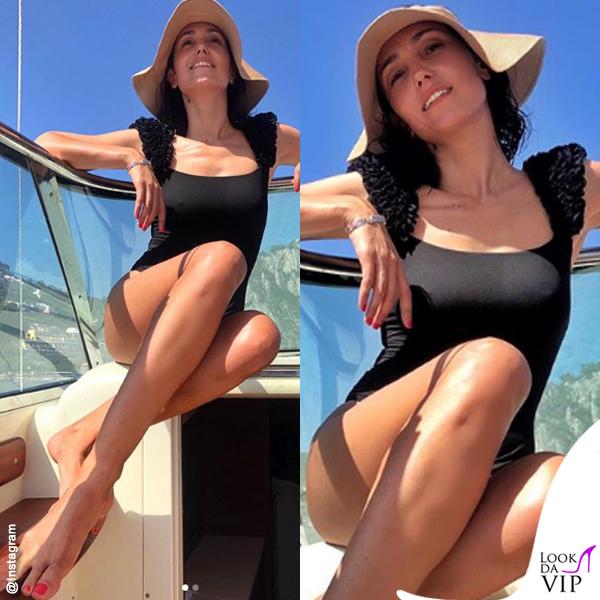 Caterina Balivo cappello Flapper