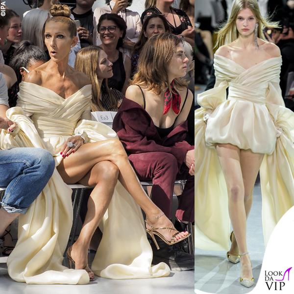 Celine Dion abito Alexandre Vauthier