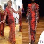 Celine Dion abito Iris Van Herpen 2