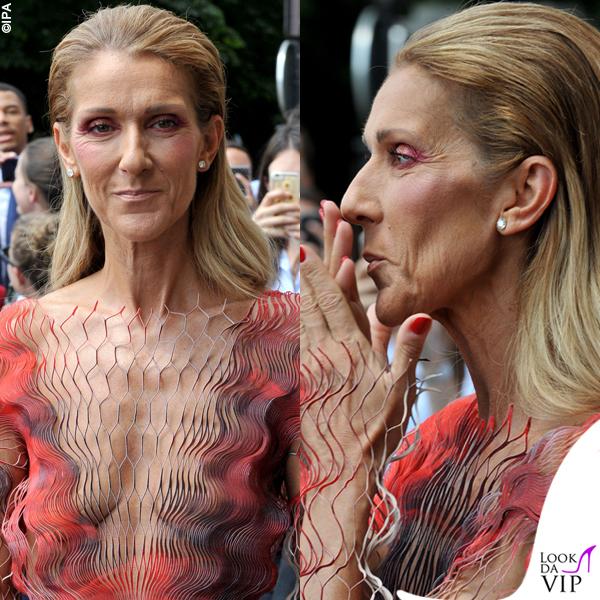 Celine Dion abito Iris Van Herpen