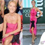 Celine Dion abito Miu Miu