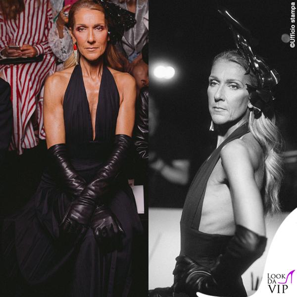 Celine Dion abito Schieparelli