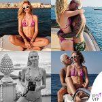 La Ferragni torna in Sicilia con lo stesso bikini