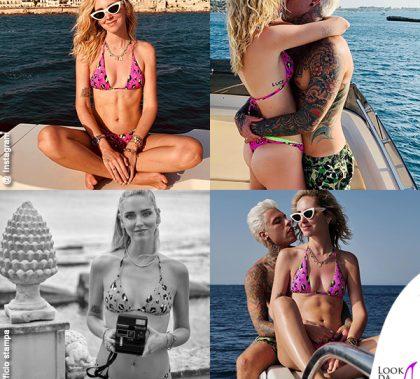 Chiara Ferragni Siracusa bikini Calzedonia Laura Fedez