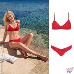 Chiara Ferragni testimonial Calzedonia bikini Alice