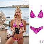 Chiara Ferragni testimonial Calzedonia bikini Laura