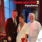 David e Victoria Beckham anniversario Guy Savoy 2