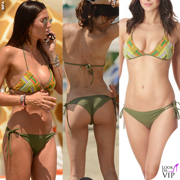 Elisabetta Gregoraci bikini Miss Bikini Luxe