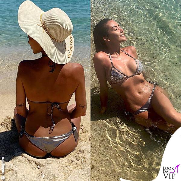 Giorgia Palmas bikini Tiare beachwear