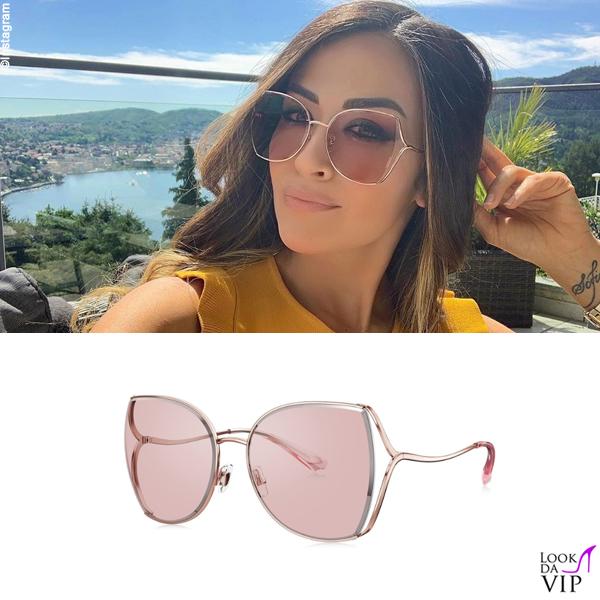 Giorgia Palmas occhiali Bolon