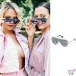 Giulia e Silvia Provvedi occhiali Victorias Secret
