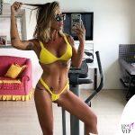 Guendalina Canessa bikini giallo