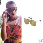 Ivana Mrazova occhiali Victorias Secret