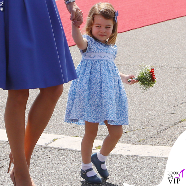 Kate Middleton principessa Charlotte tour in Germania 2016 2