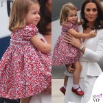 Kate Middleton principessa Charlotte tour in Polonia 2016