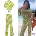 Kendall Jenner outfit Etro