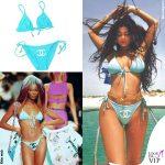 Kylie Jenner bikini Chanel 2