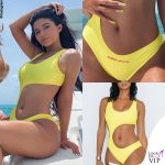 Kylie Jenner costume Mint Swim