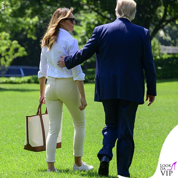 Melania Trump borsa Michael Kors