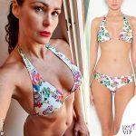 Samantha De Grenet bikini fiori BG Love