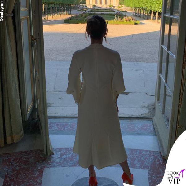 Victoria Beckham anniversario Versailles abito Victoria Beckham 3