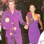 Victoria e David Beckham matrimonio abiti Antonio Berardi