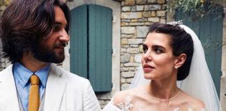 matrimonio religioso Casiraghi Rassam Charlotte Casiraghi abito Giambattista Valli 2