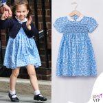 principessa Charlotte nascita del principe Louis abito Little Alice