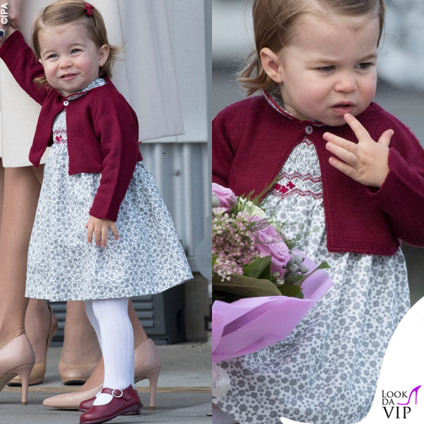 Kate Middleton principessa Charlotte tour in Canada 2016